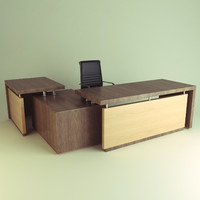 office chair desk 3d model