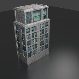 office building blend