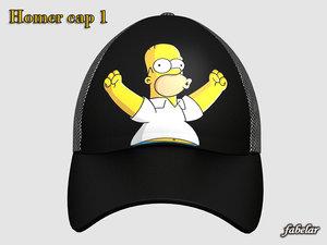 homer simpson cap max