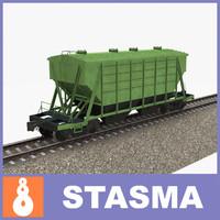 Railway hopper