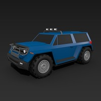 3d 3ds offroad vehicle