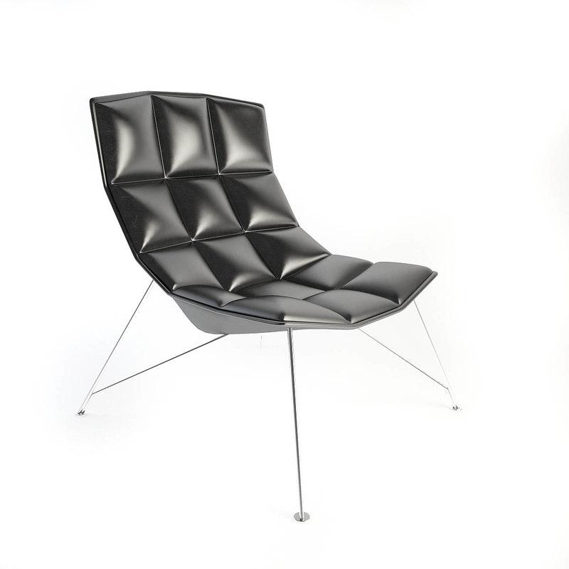 maya knoll laub lounge chair