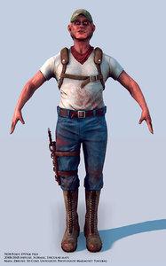 character 3d ma