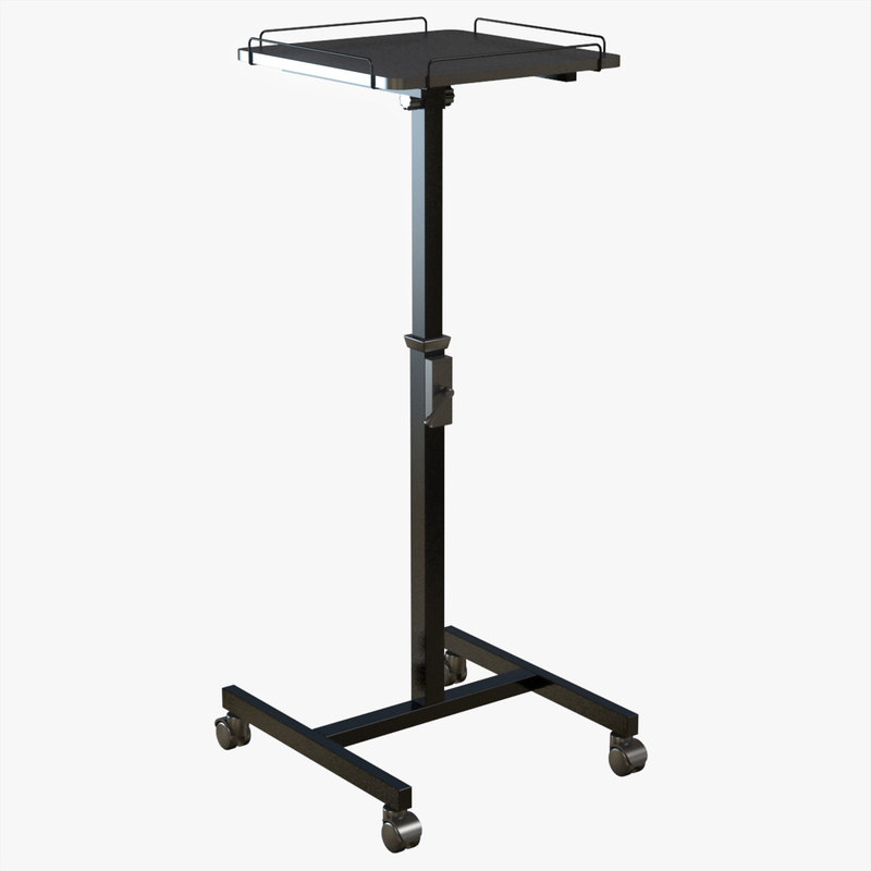 stand projector table 3d model
