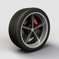 alloy ion 625 rims 3d model