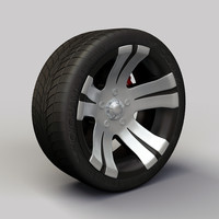 Wheel Alloy Ion 138 rims and tyre
