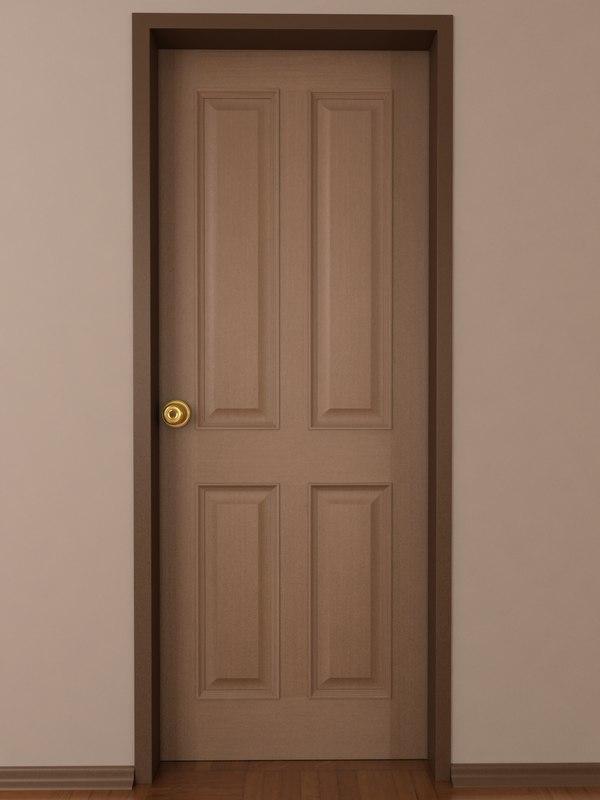doors opening 3d max
