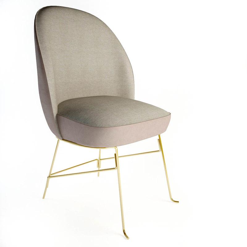 beetley chair hayon 3d model