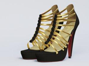 ma female heel shoe
