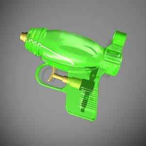 c4d squirt gun