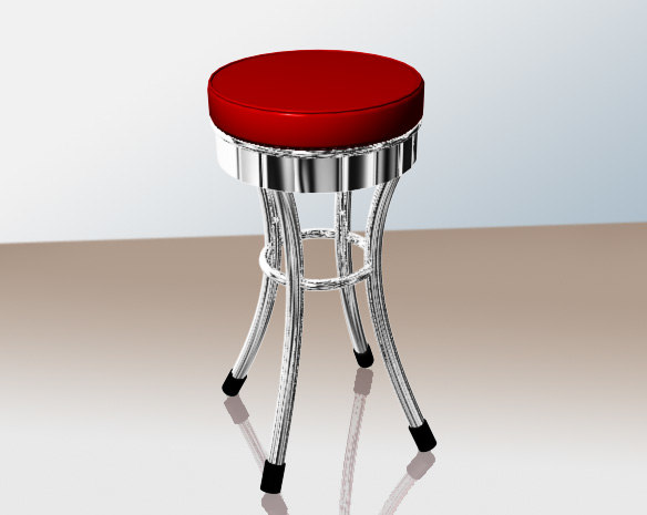 chrome stool max