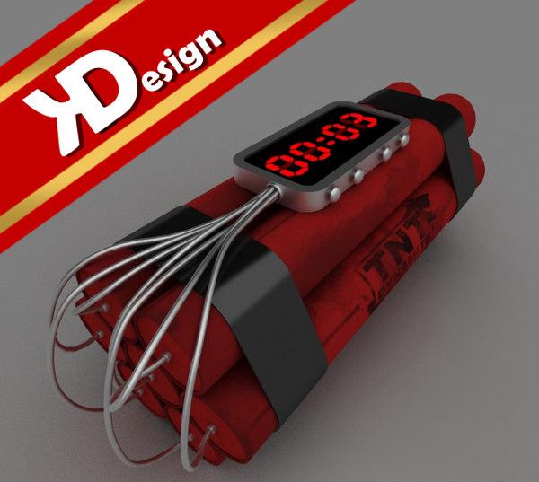 3d max tnt dynamite