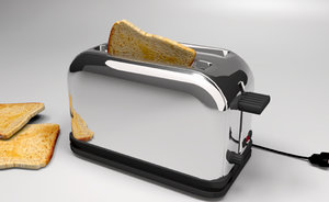 free bread 3d model