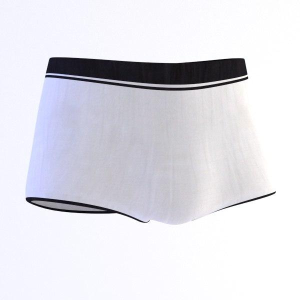 3d model underwear wear