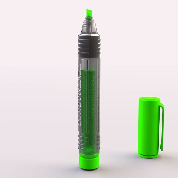 3d pen marker model