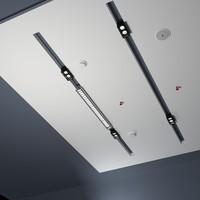Ceiling lights and accessories office