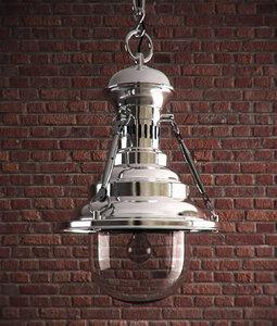 3ds max rotterdam pendant lamp aquitaine