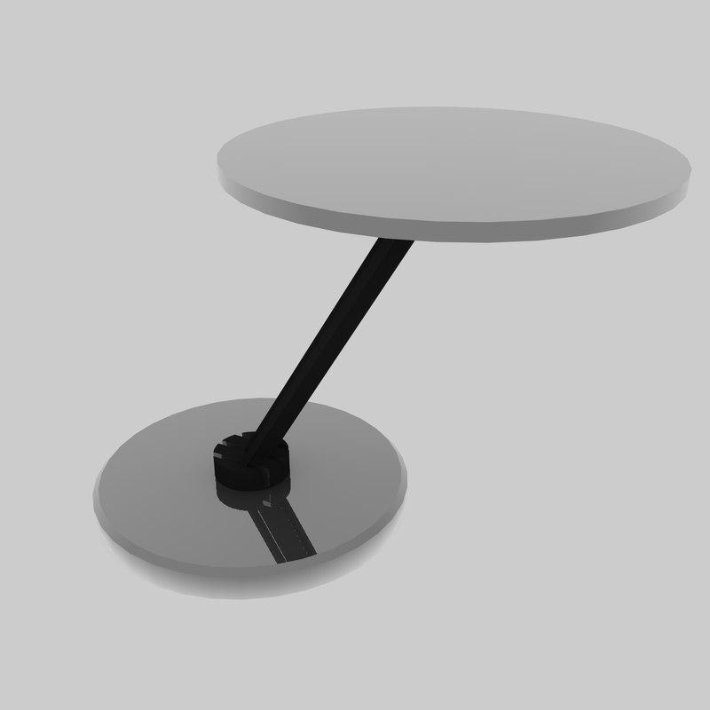 3d model ginger table