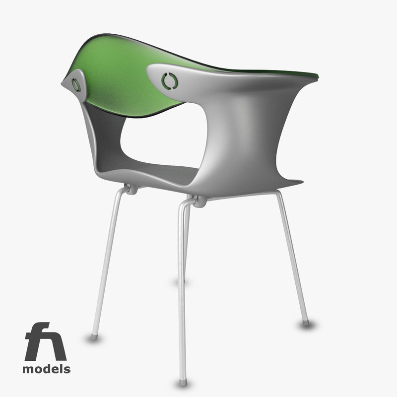 3d bluebelle chair