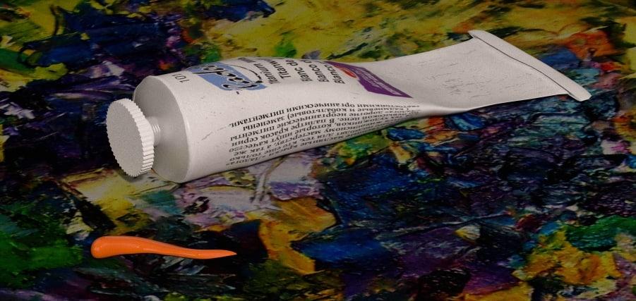 3d tube acrylic paint