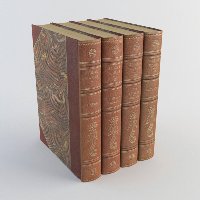 3d old books 1