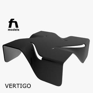 3d vertigo table moroso