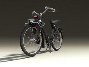 3d model solex motorcycle
