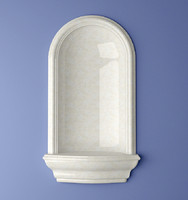 recessed italia niche 3d model