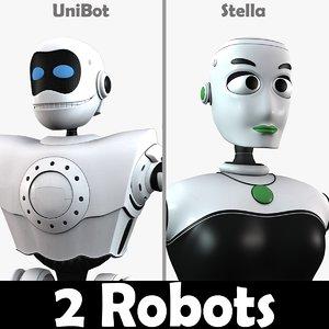 3d model 2 robot