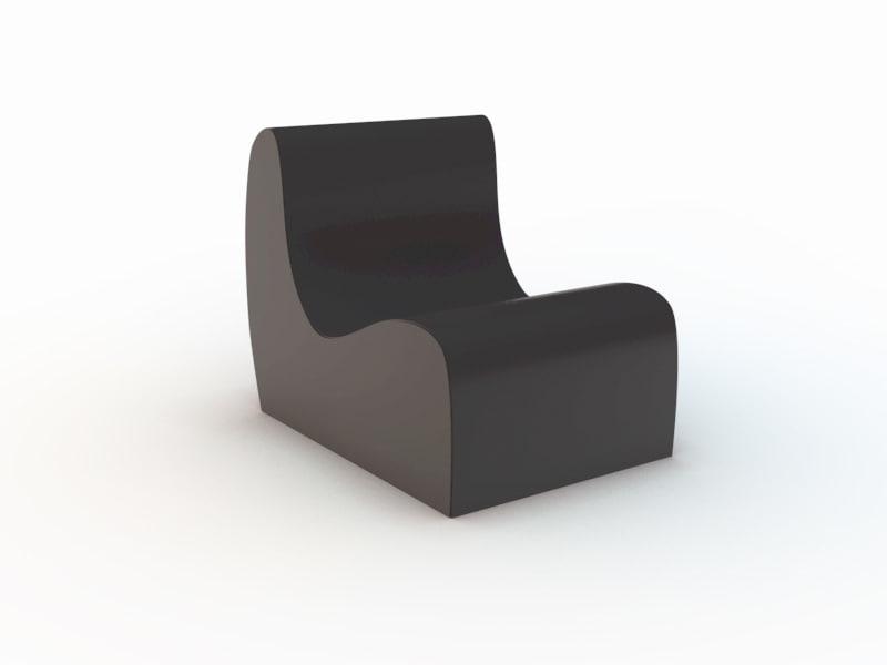 modern chair 3d c4d