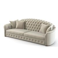 Cornelio Cappelini Tufted sofa