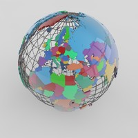 World Administrative Globe