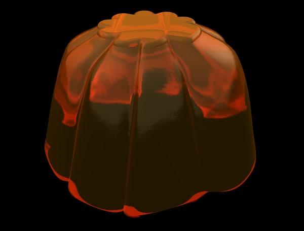 3d jello mold