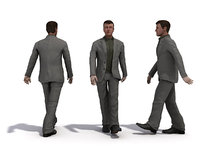 people 1 male 3d max