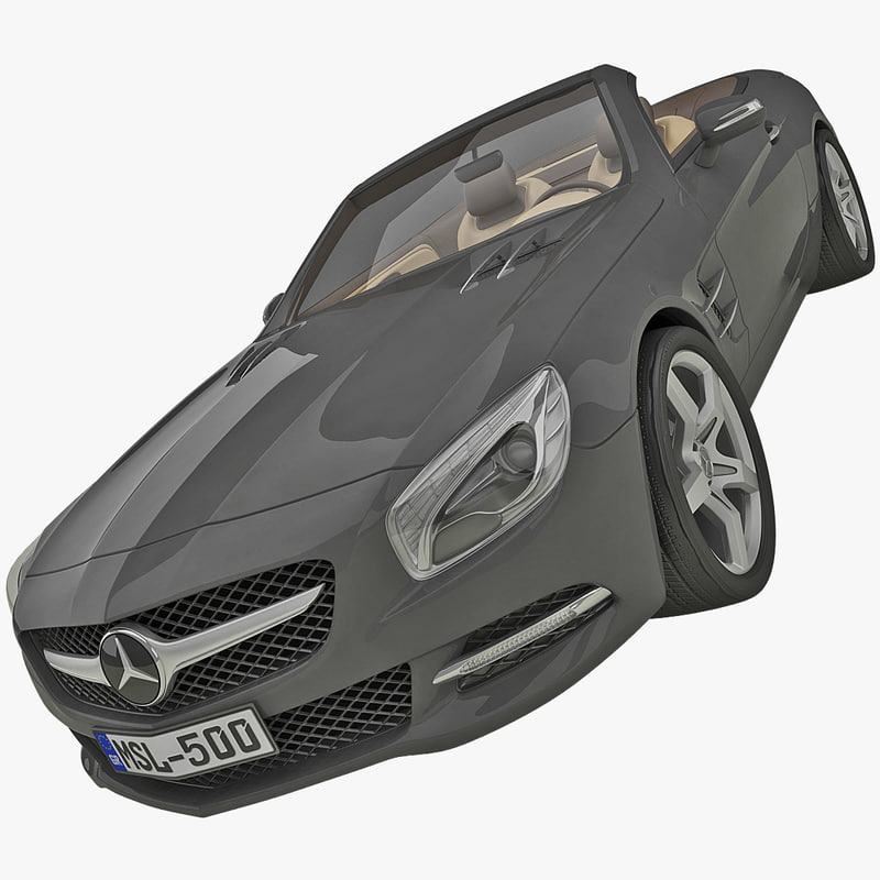 mercedes sl r231 cabriolet c4d