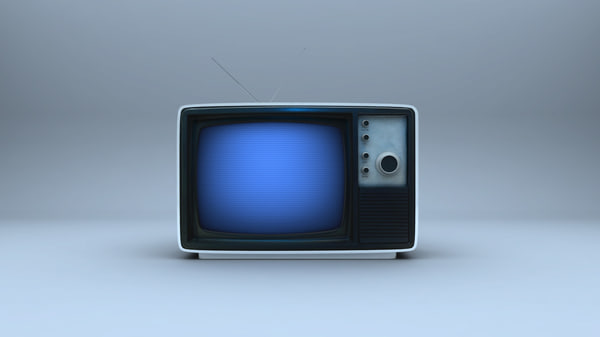 3d old tv