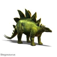 3d stegosaurus