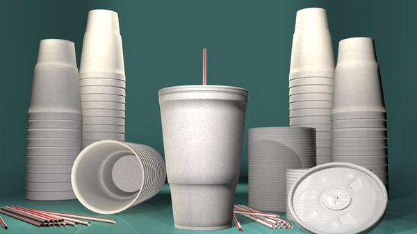 cup lid straw 3ds
