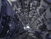 Sci-Fi Reactor Shaft