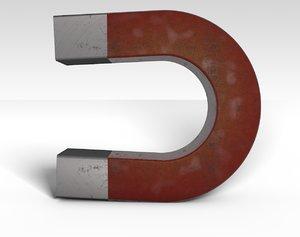 3d model magnet school science