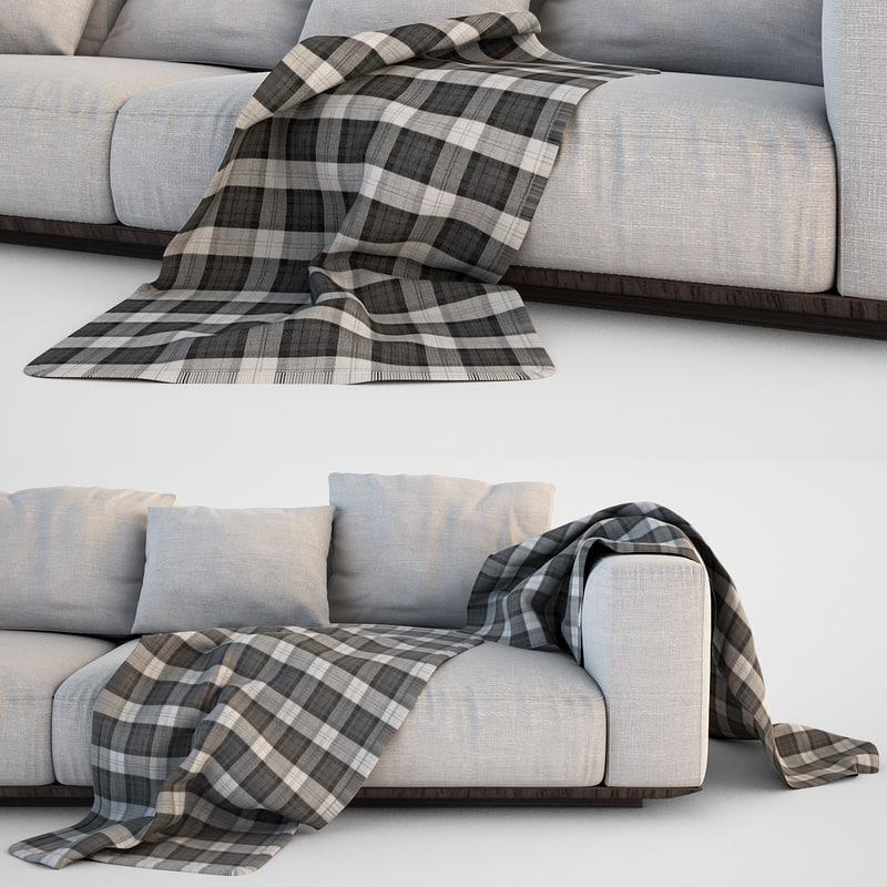3d sofa blanket set 50883a399