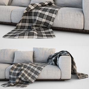 3d sofa blanket set
