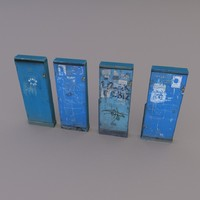 obj electric box set