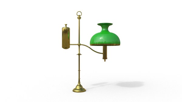traditional table brass obj