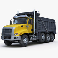 Truck tipper construction equipment