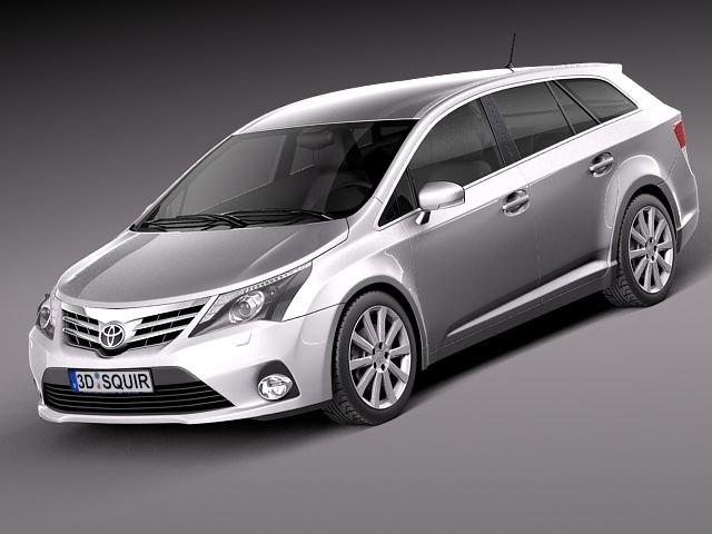 avensis wagon estate 3d 3ds