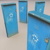 3d utility box model