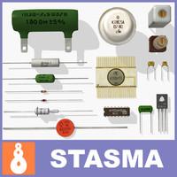 3dsmax electronics vintage