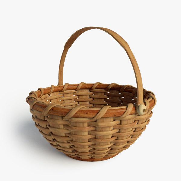 3d basket model