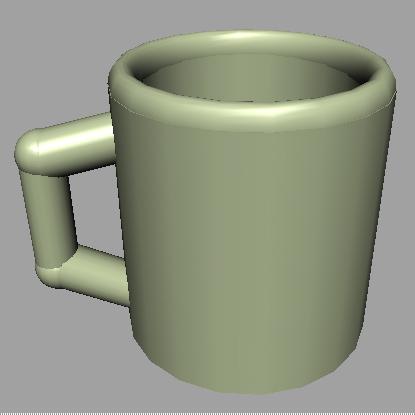 free coffee mug 3d model